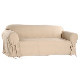 Classic Slipcovers Cotton Duck Casual-Fit Loveseat Slipcover