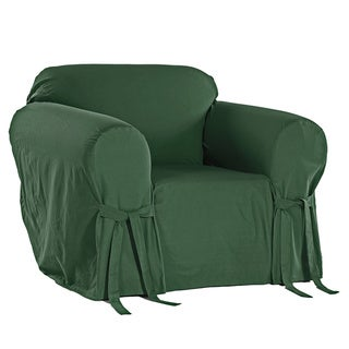 Link to Classic Slipcovers Cotton Duck Chair Slipcover Similar Items in Slipcovers & Furniture Covers
