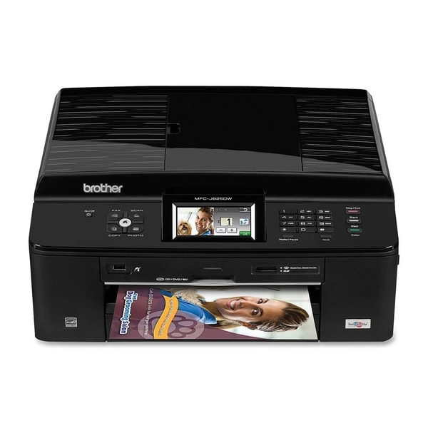 Brother MFC-J825DW Inkjet Multifunction Printer - Color - Photo/Disc