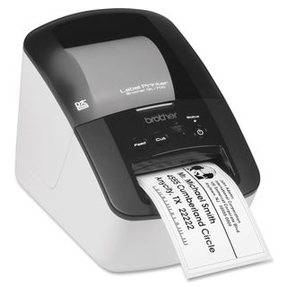 Brother QL-700 Direct Thermal Printer - Monochrome - Desktop - Label