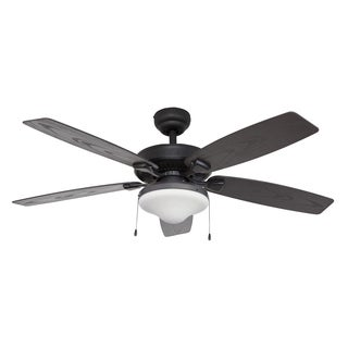 EcoSure Wharfside Globe Bronze 52-inch Ceiling Fan