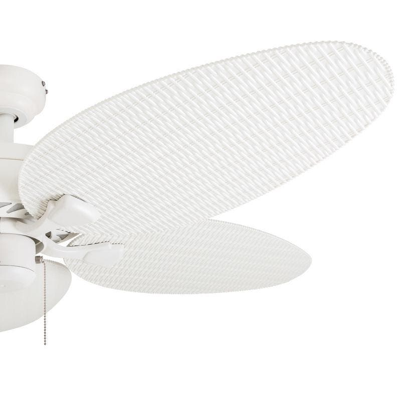 Shop Ecosure Siesta Key 52 Inch Tropical White Bowl Light: Find Great Ceiling Fans & Accessories Deals