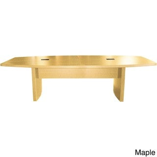 Mayline Aberdeen 10-foot Boat-shaped Conference Table