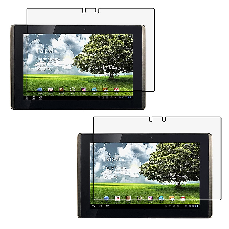 Anti-glare Screen Protector for Asus Eee Pad Transformer (Pack of 2)