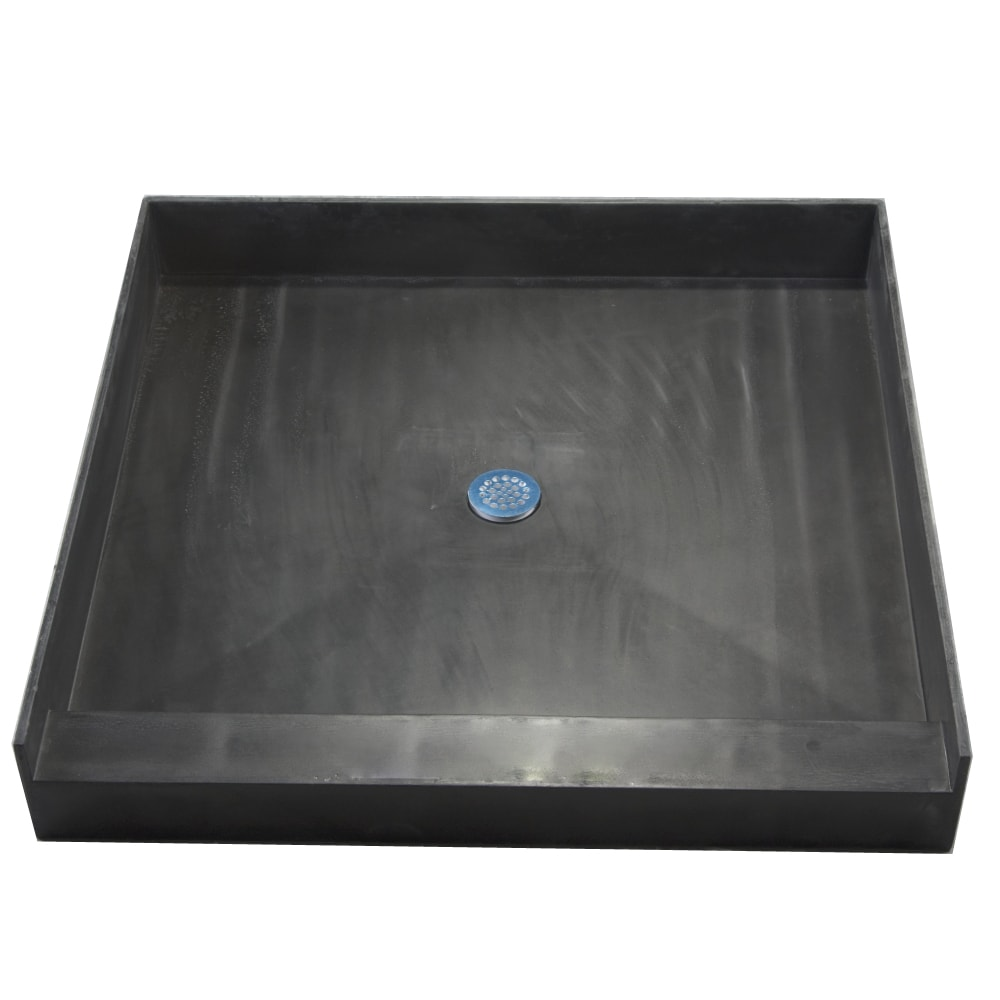 Redi Base 36 X Triple Curb Shower Pan With Center Drain