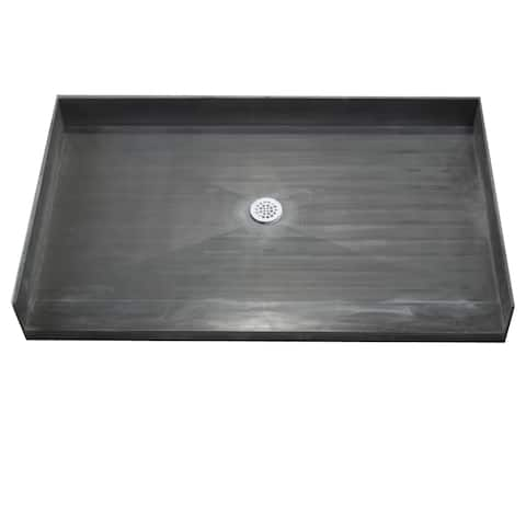 Redi Base 40 x 42 Barrier Free Shower Pan With Center Drain