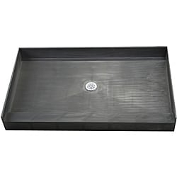 Tile Ready Shower Pan 37 x 72 Center PVC Drain