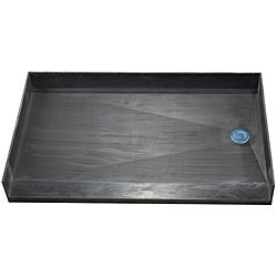 Tile Ready Shower Pan 32 x 60 Right Barrier Free PVC Drain