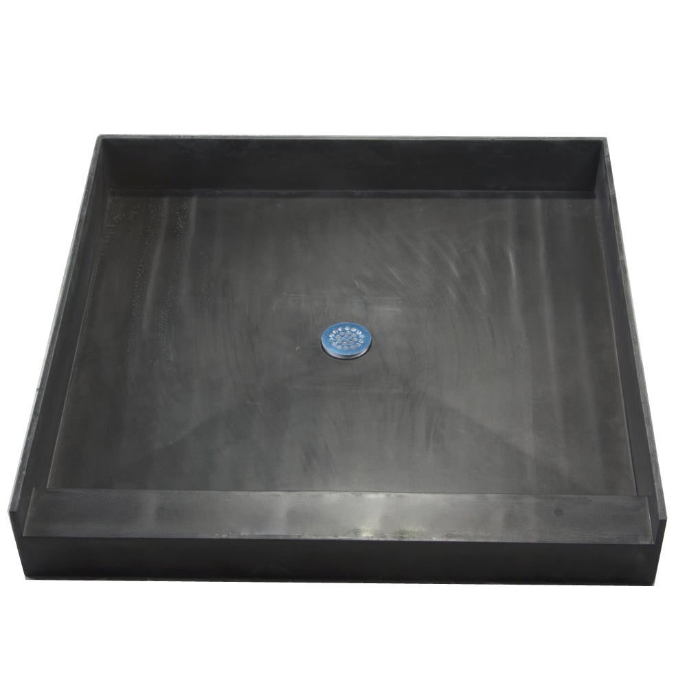 Gentil Redi Base 32 X 32 Single Curb Shower Pan With Center Drain