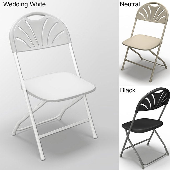 Mayline Event Series 2000FC Ventilated Back Folding Chairs (Pack of 8)
