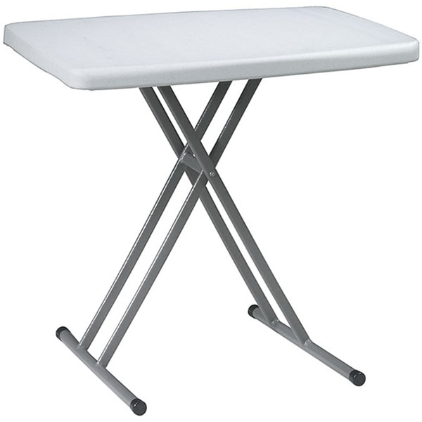 Shop Office Star Resin AdjustableHeight Personal Training Table - Adjustable training table