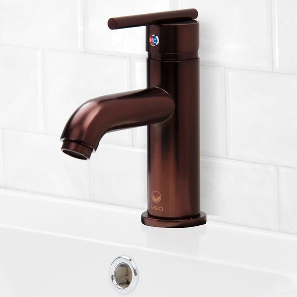 VIGO Setai Bathroom Single Hole Faucet in Oil Rubbed Bronze