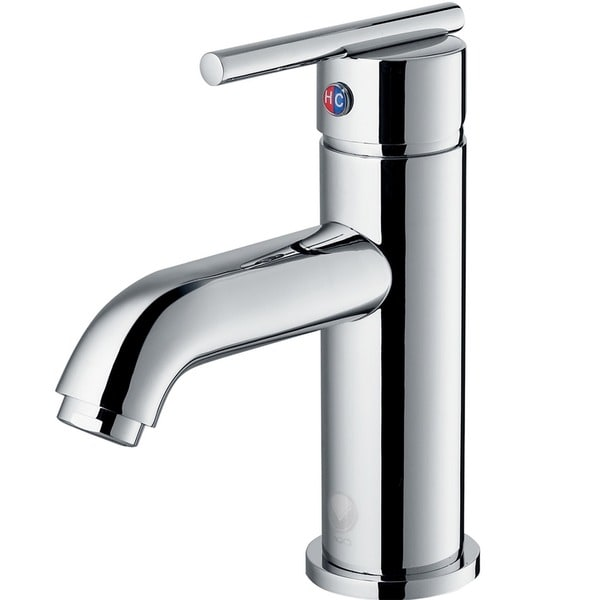 VIGO Setai Bathroom Single Hole Faucet in Chrome