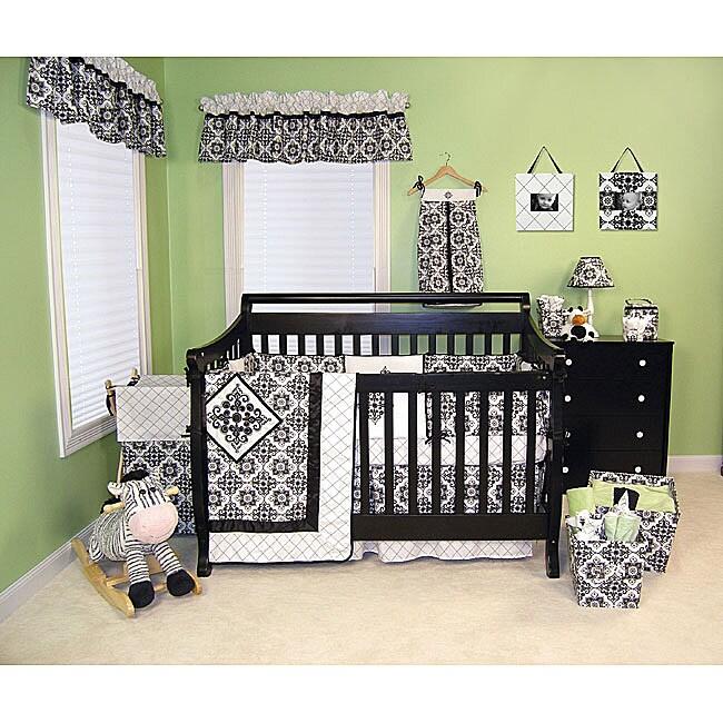 Trend Lab Versailles 6-piece Crib Bedding Set