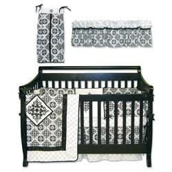 Trend Lab Versailles 6-piece Crib Bedding Set - Thumbnail 1
