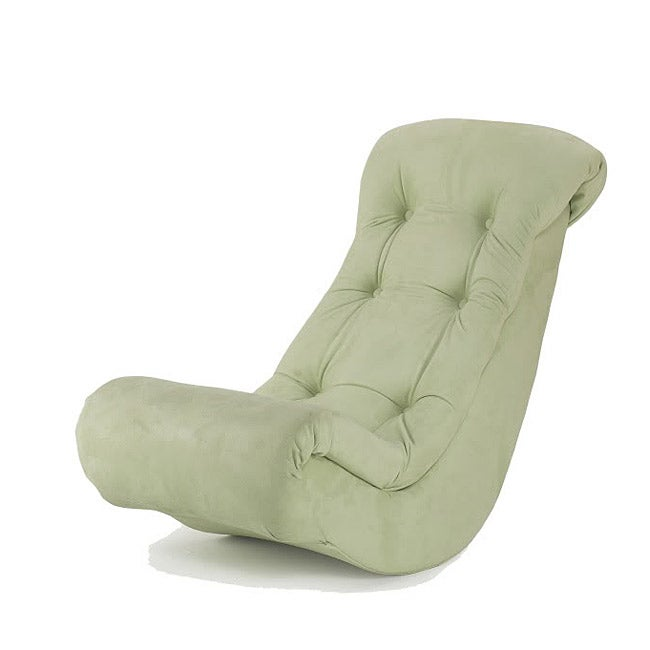 Hannah Baby Lime Micro Fiber Banana Rocking Chair