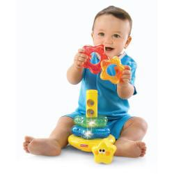 Fisher Price Brilliant Basics Little Super Star Classical Stacker