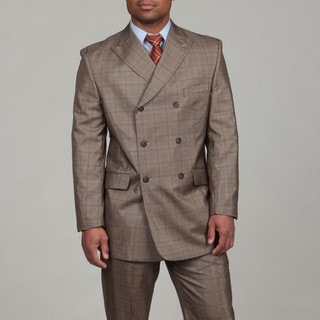 English Laundry Men's Double Breasted Two-piece Suit
