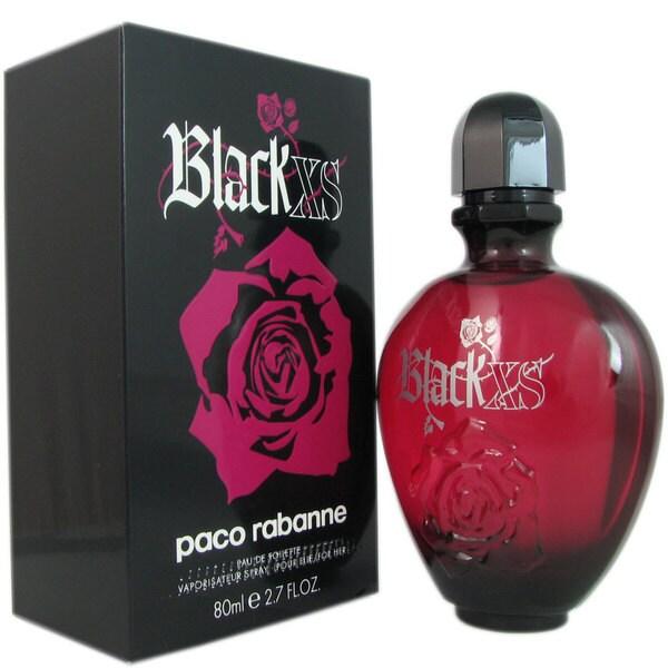 Shop Paco Rabanne Black Xs Womens 27 Ounce Eau De Toilette Spray