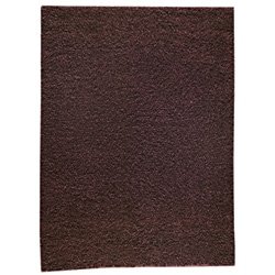 M.A.Trading Hand-woven Shanghai Mix Brown Wool Rug (3' x 5'4)