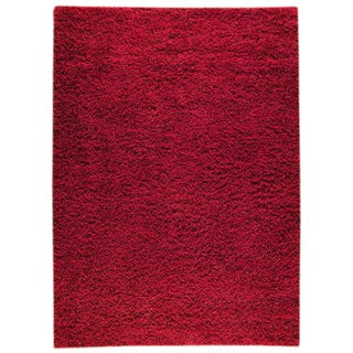 M.A.Trading Hand-woven Shanghai Mix Red Wool Rug (6'6 x 9'9)