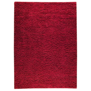 M.A.Trading Hand-woven Shanghai Mix Red Wool Rug (4'6 x 6'6)
