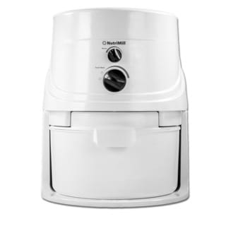 NutriMill Classic 760200 1200 Watt, 5 Cups Per Minute High Speed Grain Mill