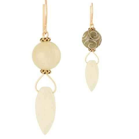 Handmade Jade Nahele Earrings