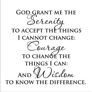 Link to Vinyl Attraction 'Serenity Prayer' Vinyl Wall Art Similar Items in Vinyl Wall Art
