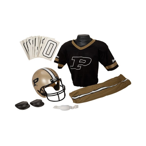 Franklin Sports Youth Purdue Football Uniform Set