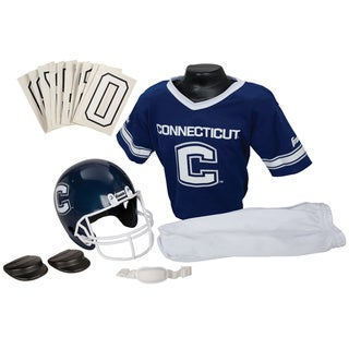 Franklin Sports Youth UCONN Football Uniform Set