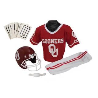 Franklin Sports Youth Oklahoma Football Uniform Set