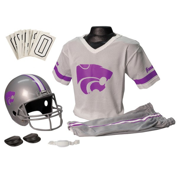 Franklin Sports Youth Kansas State Football Uniform Set
