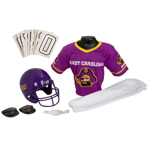 Franklin Sports Youth ECU Football Uniform Set