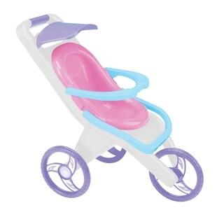 American Plastic Toys 3-in-1 Doll Stroller