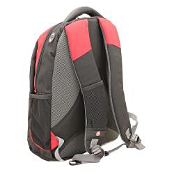 Wenger SwissGear 'The Anthem' Red 16-inch Laptop Backpack - Thumbnail 2