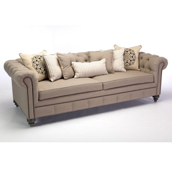 Shop Jar Designs Alphonse Tufted Sofa Free Shipping