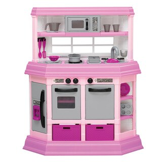 American Plastic Toys Custom Kitchen Play Set