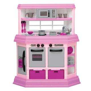 Good American Plastic Toys Custom Kitchen Play Set
