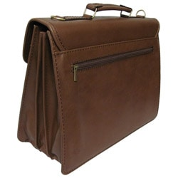 Amerileather Cleveland Executive Faux Leather Briefcase - Thumbnail 1