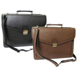 Amerileather Cleveland Executive Faux Leather Briefcase