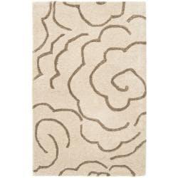 Safavieh Handmade Soho Roses Beige New Zealand Wool Rug (2' x 3')