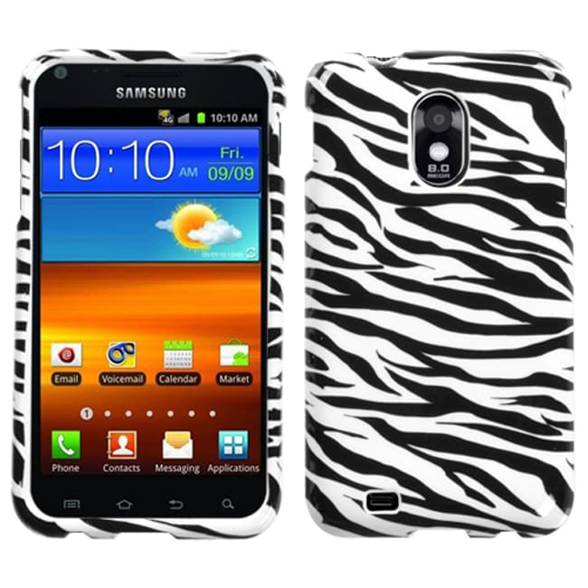 Insten Zebra Protector Phone Case Cover for Samsung Galaxy S2 Epic 4G Touch