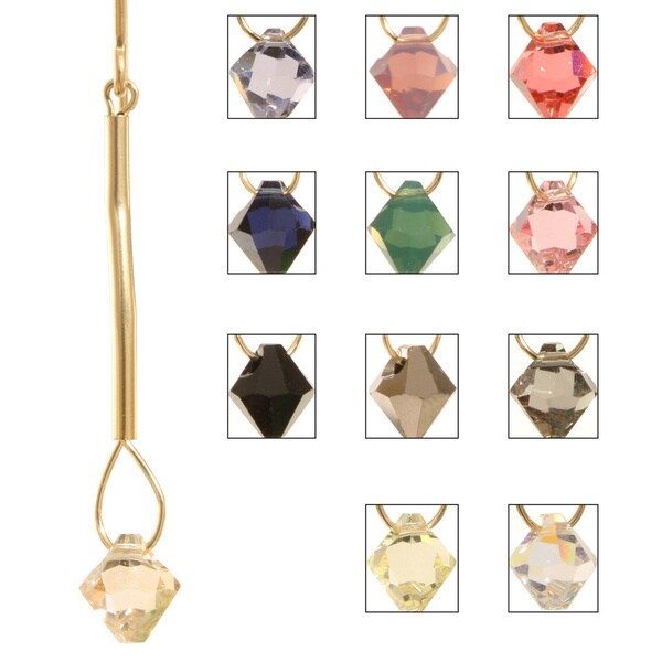 Crystal 'Eos' 14k Gold Fill Earrings