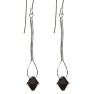 Crystal 'Eos' 14k Gold Fill/ Sterling Silver Earrings