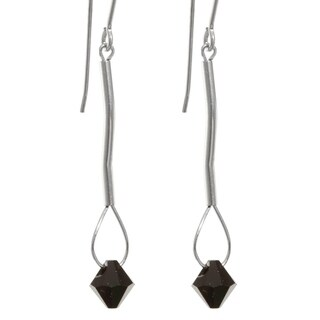 Crystal 'Eos' Gold Fill/ Sterling Silver Earrings