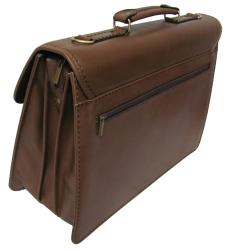Amerileather Theodore Executive Leatherette Briefcase - Thumbnail 1
