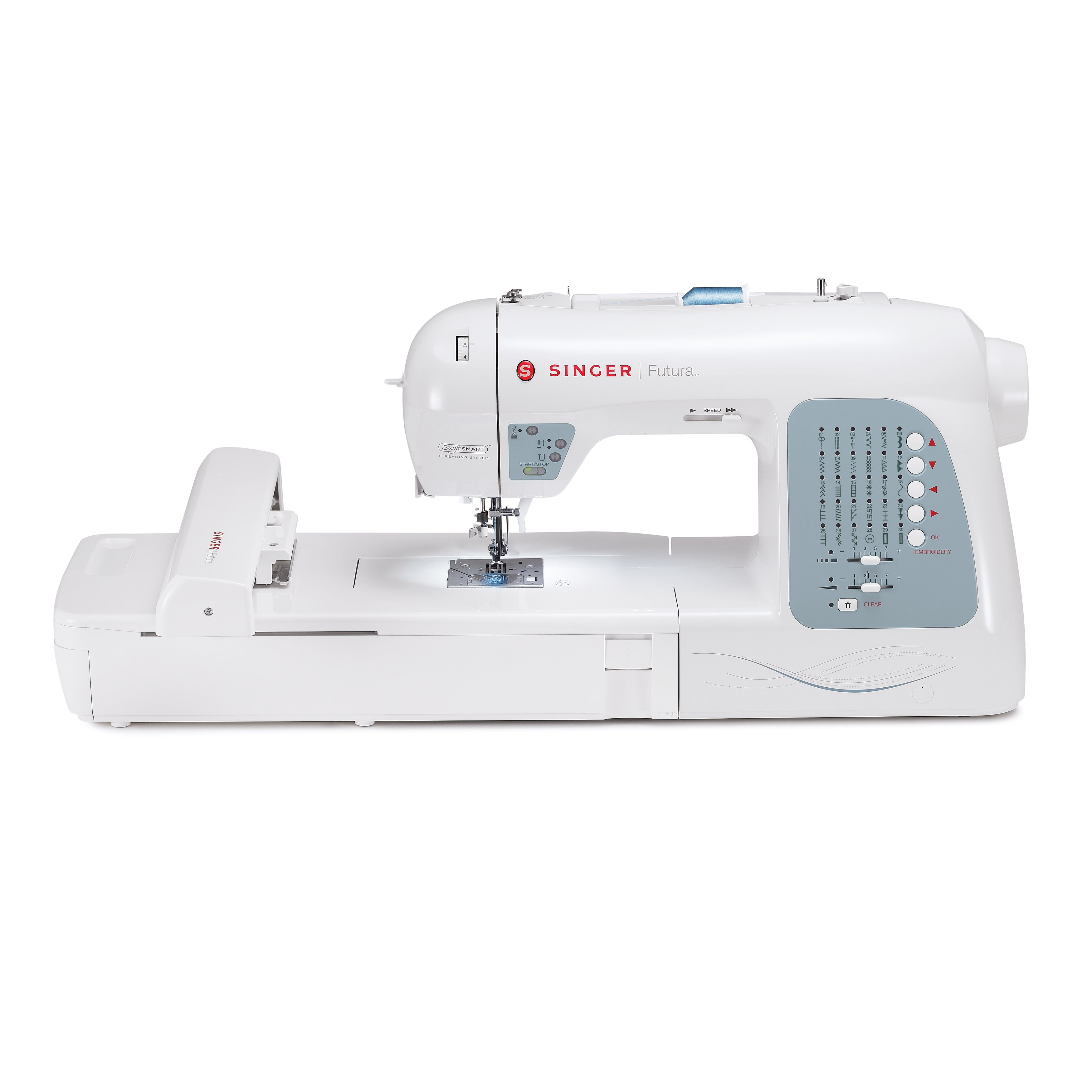 SINGER SEWING CO. Futura XL-400 Embroidery and Sewing Mac...