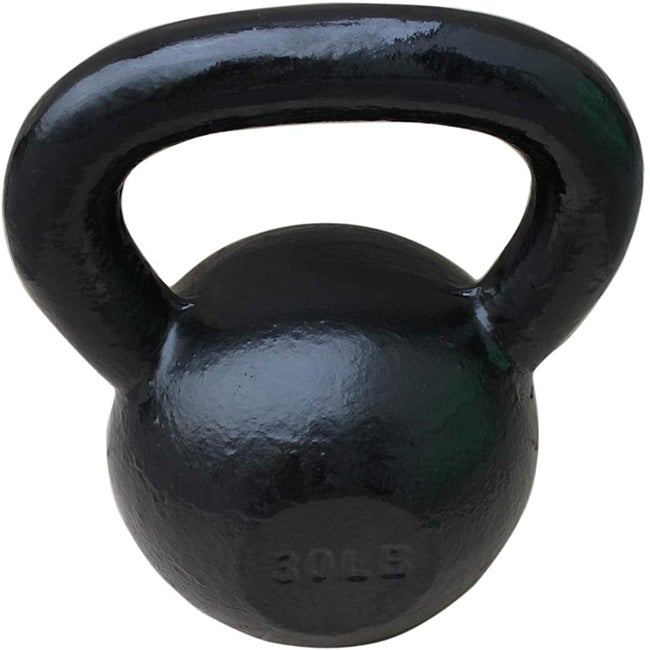 Sunny Black 30-pound Kettle Bell
