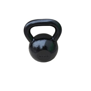 Sunny Black 40-pound Kettle Bell
